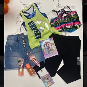Justice wardrobe Girls size 8 NWT